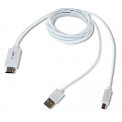 ADAPT. MHL 1.0 A HDMI BLANCO   APPROX