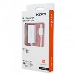 ADAPT. MINI DP A HDMI 1.3B      HASTA 1080P BLANCO APPROX