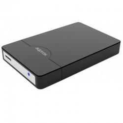 CAJA 2.5 USB 2.0 APPROX NEGRA  SCREWLESS ENCLOSURE APPHDD09B