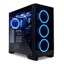 CAJA GAMING CASE EBONY NEGRA   USB 2.0 /USB 3.0 SIN FUENTE
