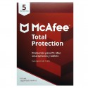 ANTIV.  5LC MCAFEE TOTAL PROTE CCTION