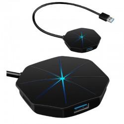 HUB 4 PTOS USB 3.0 CON LED OME GA BACKLIGHT