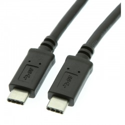 CABLE USB 2.0  1 M TYPE-C M A   TYPE-C