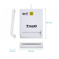 LECTOR EXT. TOOQ DNIE TQR-210W USB 2.0 BLANCO