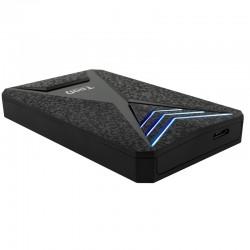 CAJA 2.5 USB 3.0/3.1 TOOQ     TQE-2550BL 9.5mm NEGRA/AZUL