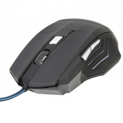 RATON USB OMEGA GAMING 3200DPI  V-3200 NEGRO