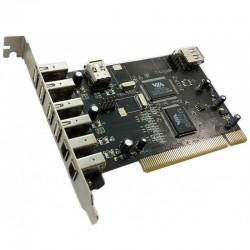 CONTROL. 4 PTOS USB 2.0 PCI +  FIREWIRE PCI