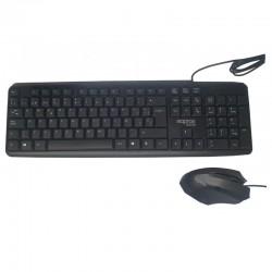 TECL+RAT USB APPROX MX230 NEGR O