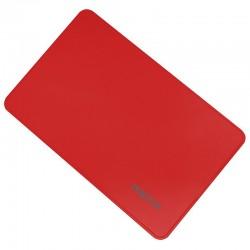 CAJA 2.5 USB 2.0 APPROX ROJA  9.5mm ENCLOSURE HASTA 2TB