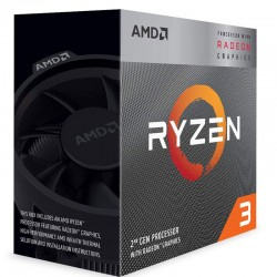CPU AMD S-AM4 RYZEN 3 3200G 3. 6 GHZ BOX