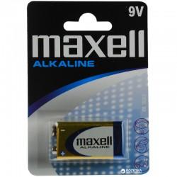 PILA 9V MAXELL 1UND BLISTER    ALCALINA