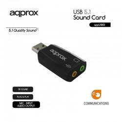 TARJ. SONIDO USB APPROX 5.1