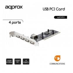 CONTROL. 4 PTOS USB 2.0 APPROX  PCI + 1 PTO USB INTERNO